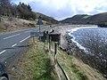 Bwlch y Gle dam, Llyn Clywedog and B4518 - geograph.org.uk - 726261.jpg
