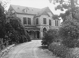 """Milne & Co - """"Byethorne"""", Mount Lofty, home of William Milne, jun., later St. Catherine's Convent"""
