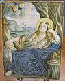 C.sf., castelli, carmine gentile, mattonella con maria maddalena in estasi, 1740-1750.JPG