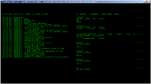 CDC 6600 - CDC 6000 series SCOPE 3.1 building itself while running on Desktop CYBER emulator.