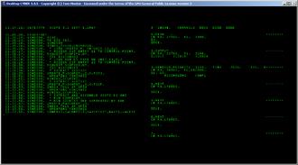 CDC SCOPE - CDC 6000 series SCOPE 3.1 building itself while running on Desktop CYBER emulator.