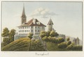 CH-NB - Burgdorf, Pfarrhaus und Kirche - Collection Gugelmann - GS-GUGE-WEIBEL-D-26b.tif