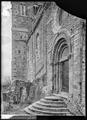 CH-NB - Sion, Basilique de Valère, Portail, vue partielle - Collection Max van Berchem - EAD-8630.tif