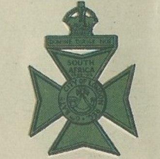City of London Rifles - Image: CLR Badge