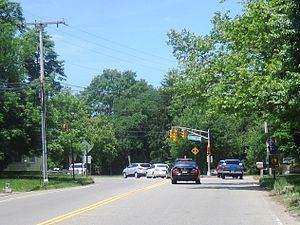 County Route 549 (New Jersey) - Northern terminus of CR 549 at CR 547