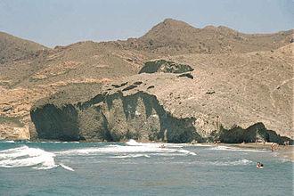 Costa de Almería - Playa de Mónsul, in the Cabo de Gata-Níjar Natural Park.