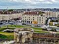 Caen Château de Caen Blick auf die Rue Montoir Poissonnerie 8.jpg
