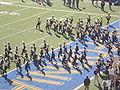 Cal Band performing pregame at 2008 Big Game 02.JPG