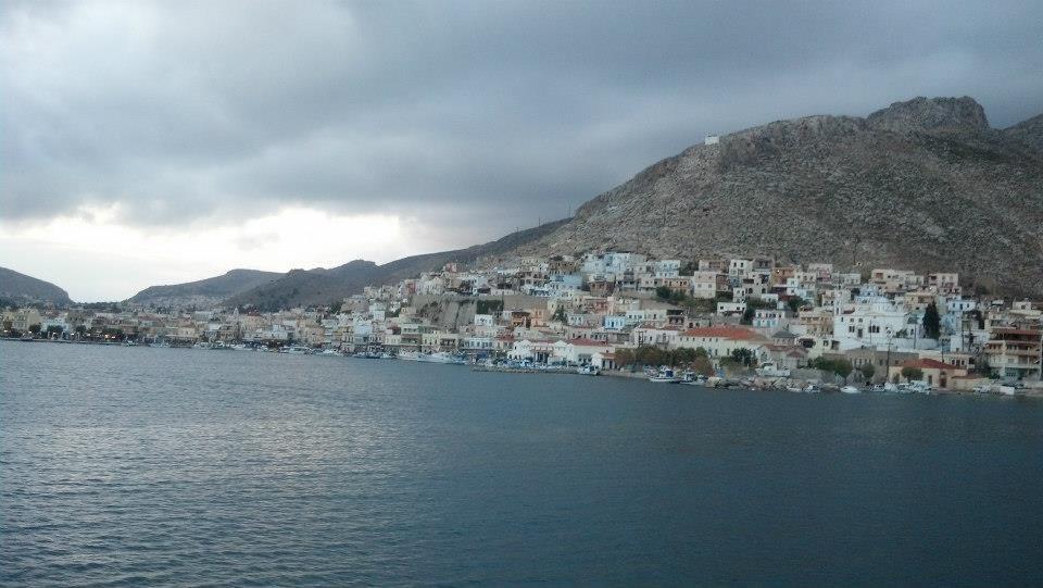 Calymnos harbour