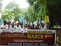 Campus Front of India's Parliament March.jpg