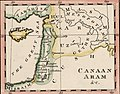 Canaan Aram. John Melish. The Places Recorded in the Five Books of Moses. 1815.jpg