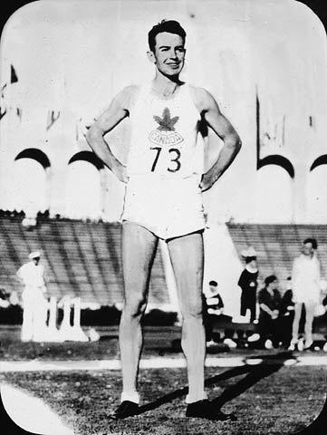 Canadian high jumper Duncan McNaughton