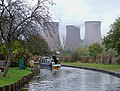 Canal and cooling towers near Rugeley, Staffordshire - geograph.org.uk - 1556715.jpg