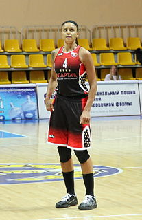 Candice Dupree American basketball player
