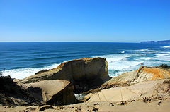 A view from Cape Kiwanda
