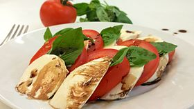 Image illustrative de l'article Salade caprese