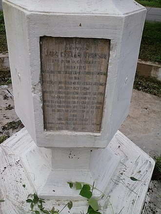 Dehradun - Capt John War memorial maintained by army at Dehradun