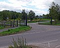 Car park at Bagworth Heath Wood - geograph.org.uk - 542224.jpg