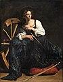 Caravaggio - Saint Catherine of Alexandria (post-restoration image).jpg