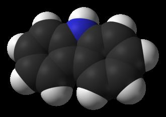 Carbazole - Image: Carbazole 3D vd W
