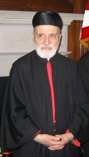 Nasrallah Boutros Sfeir - Image: Cardinal Nasrallah Peter Sfeir