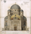 Carlo Maciachini's project for Saint Spyridon Church in Trieste, 1860.png