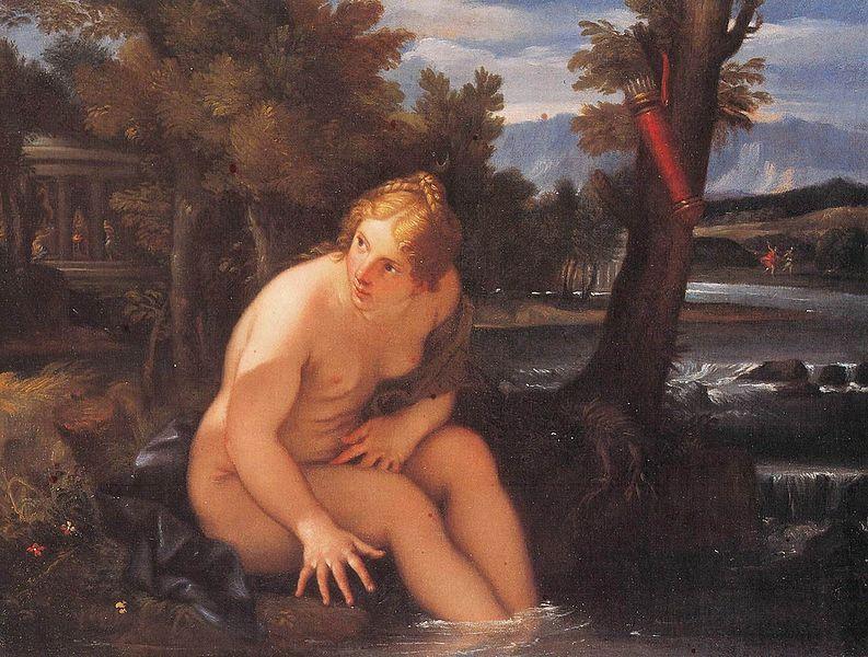 Файл: Carlo Maratta - O banho де Diana.jpg