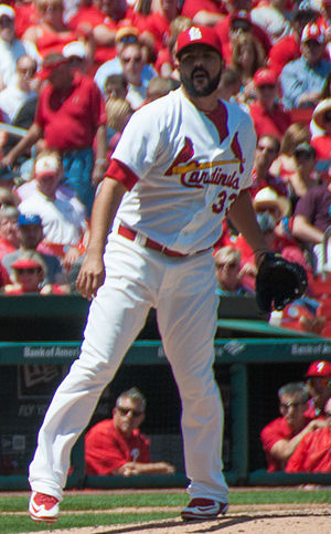 Carlos Villanueva (baseball) - Villanueva with the Cardinals in 2015