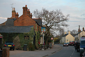 Carlton, Bedfordshire - Image: Carlton High Street