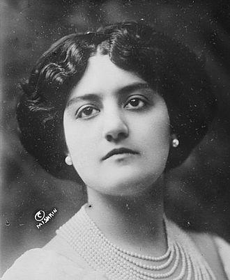 La cena delle beffe - Carmen Melis, who created the role of Ginevra
