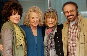 Carole Bayer Sager - Sager with Carole King, Cynthia Weil, and Barry Mann in December 2012