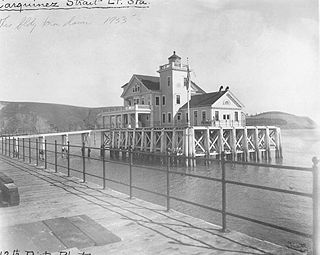 Carquinez Strait Light lighthouse in California, United States