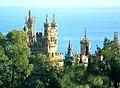 Castillo de Colomares cerca del pueblo de Benalmádena - Provincia de Málaga, España. - panoramio.jpg