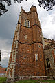 Castle Hedingham, St Nicholas' Church, Essex England - tower from south.jpg