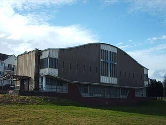 Castlemilk - Castlemilk West Parish Church in 2008
