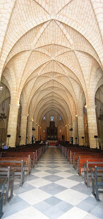 Basilica Cathedral of Santa María la Menor - Image: Catedral Primada interior