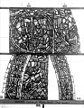 Cathédrale - Vitrail, déambulatoire, baie 57, Histoire de Joseph, deuxième panneau en haut - Rouen - Médiathèque de l'architecture et du patrimoine - APMH00032011.jpg