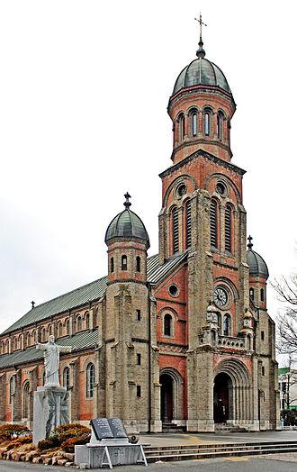 Jeonju - Image: Cathédrale Jeondong