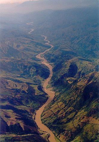 Cauca River - Cauca River in Nechí, Antioquia