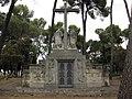 Cementiri de Terrassa, panteó semisoterrani família Salvans (I).jpg