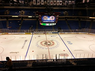 Mohegan Sun Arena at Casey Plaza - Image: Center Ice View