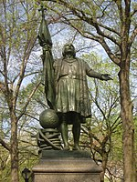 Central Park NYC - Columbus statue by Jeronimo Sunol - IMG 5706.JPG