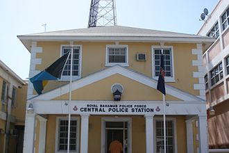 Royal Bahamas Police Force - Central police station of the RBPF in Nassau