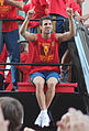 Cesc Fàbregas at the Euro2012 victory parade in Madrid (Spain) 01.jpg