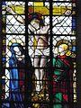 Champeaux (77) Collégiale Saint-Martin Vitrail Crucifixion.jpg