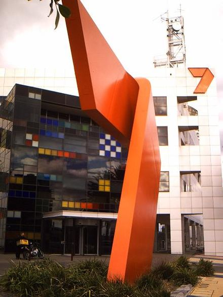 The Seven Network's broadcast centre in the Melbourne Docklands area. Channel7.jpg