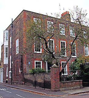 Chapel House, Twickenham house at 15 Montpelier Row, Twickenham, London