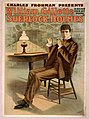 Charles Frohman presents William Gillette in his new four act drama, Sherlock Holmes LCCN2014636693.jpg