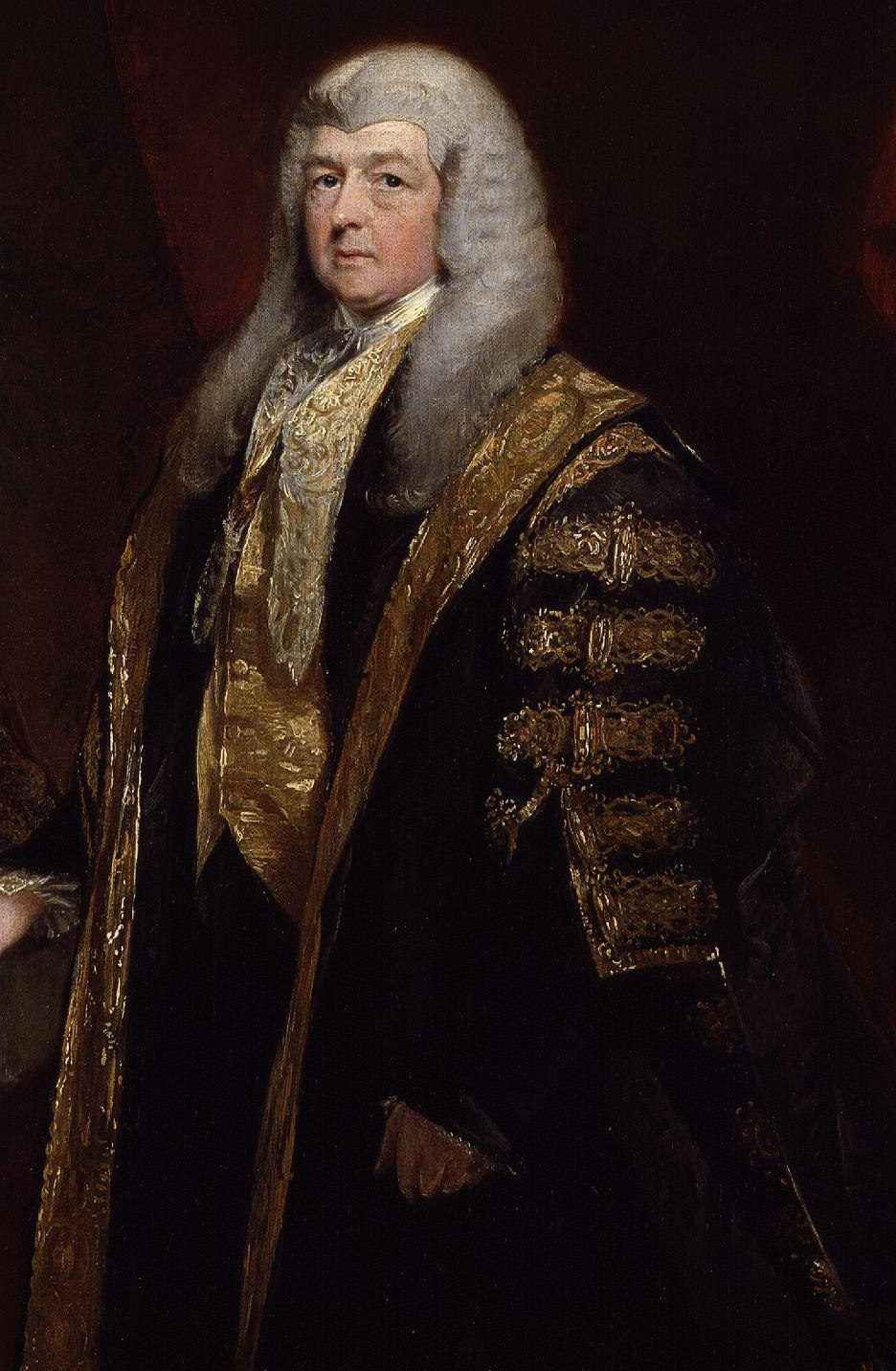 Charles Pepys, 1st Earl of Cottenham by Charles Robert Leslie cropped