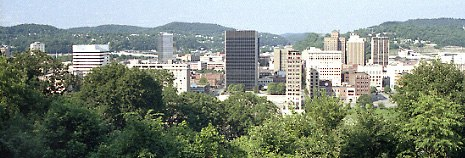 Charleston WV skyline